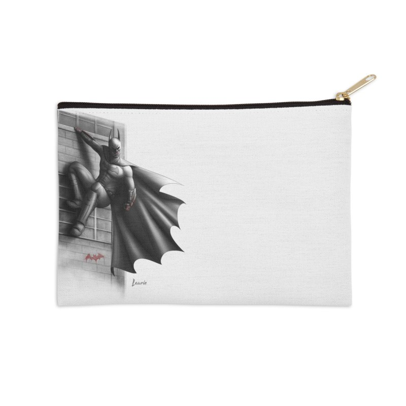 Batman - 50 Shades of Arkham Accessories Zip Pouch by Laurie's Artist Shop
