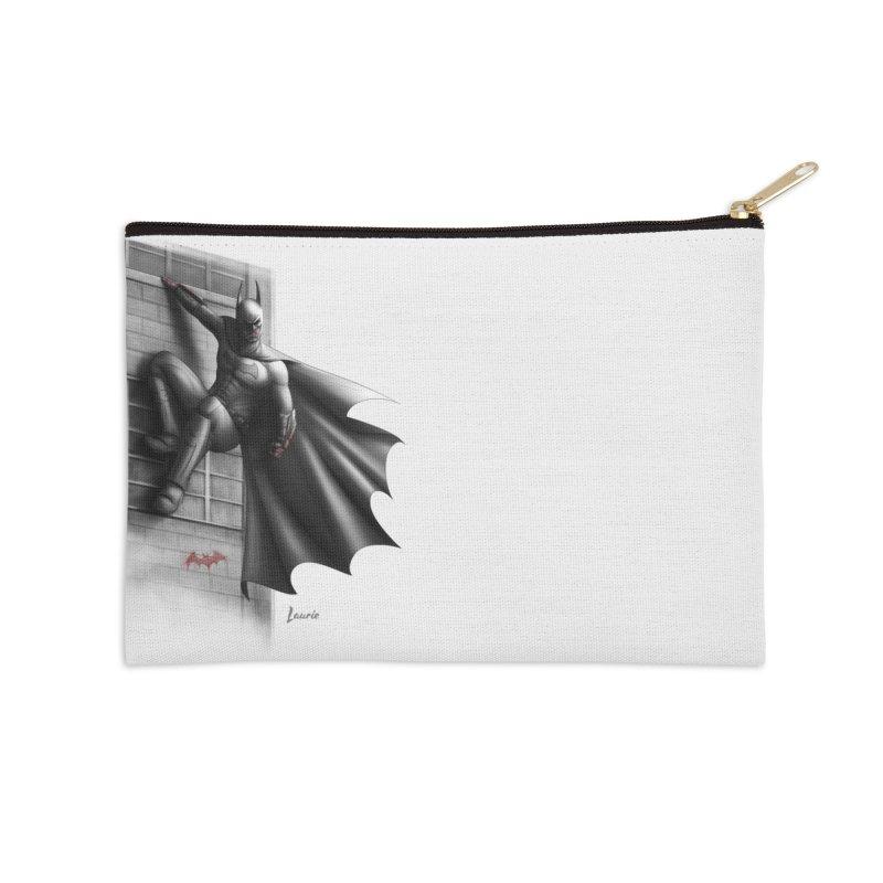 Batman - 50 Shades of Arkham Accessories Zip Pouch by Laurie's Artist Shop