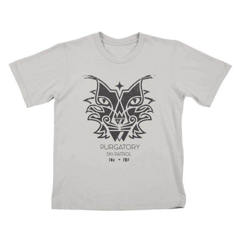 Purgatory Patrol Lynx Kids T-shirt by lauriecullumdesign's Artist Shop