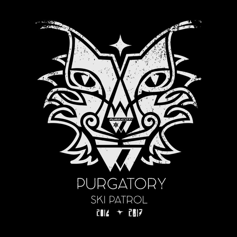 white Lynx Purgatory Patrol None  by lauriecullumdesign's Artist Shop