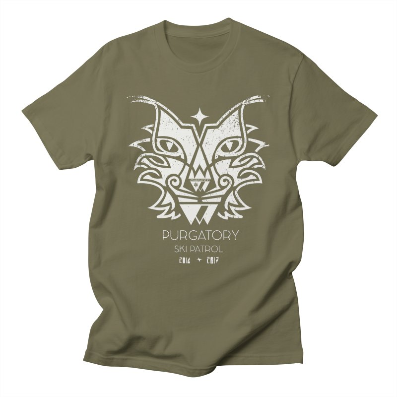 white Lynx Purgatory Patrol Women's Unisex T-Shirt by lauriecullumdesign's Artist Shop