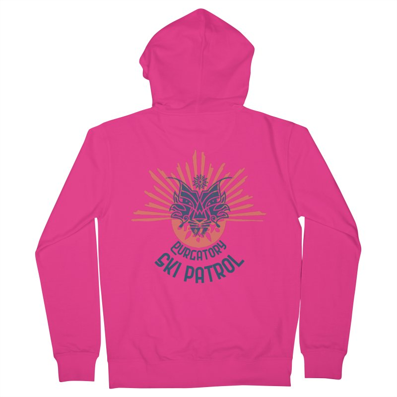 Lynx Burst Men's Zip-Up Hoody by lauriecullumdesign's Artist Shop
