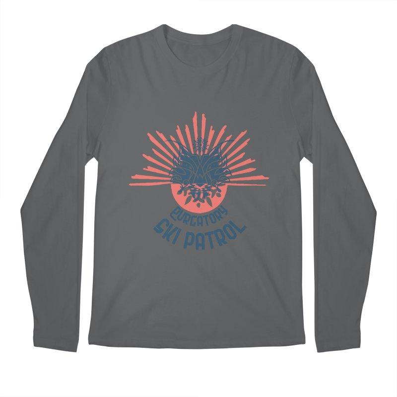 Lynx Burst Men's Longsleeve T-Shirt by lauriecullumdesign's Artist Shop