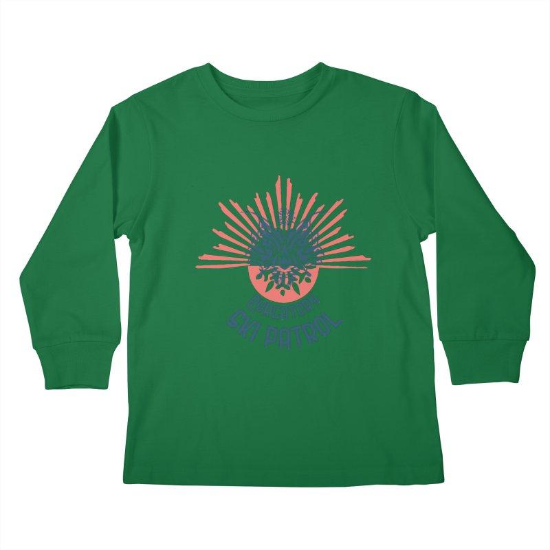 Lynx Burst Kids Longsleeve T-Shirt by lauriecullumdesign's Artist Shop