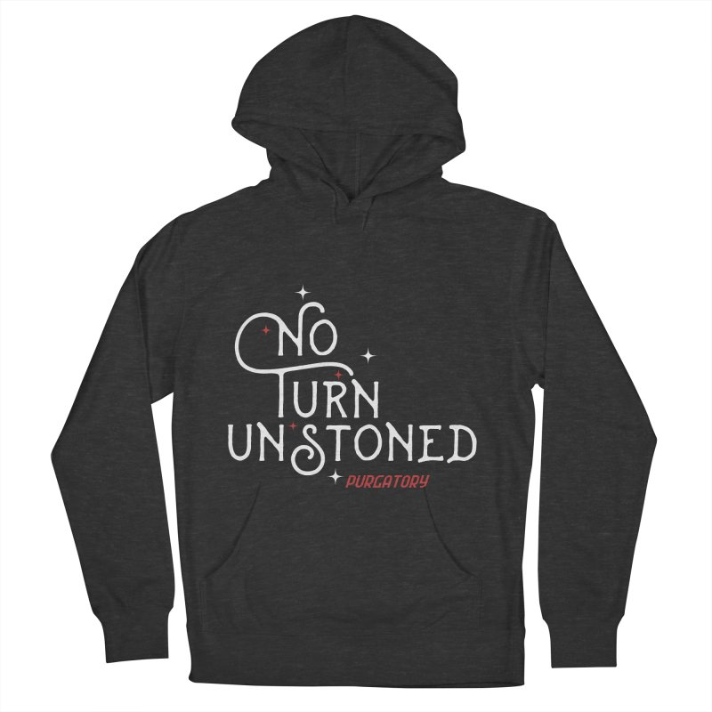 No Turn Unstoned Women's Pullover Hoody by lauriecullumdesign's Artist Shop