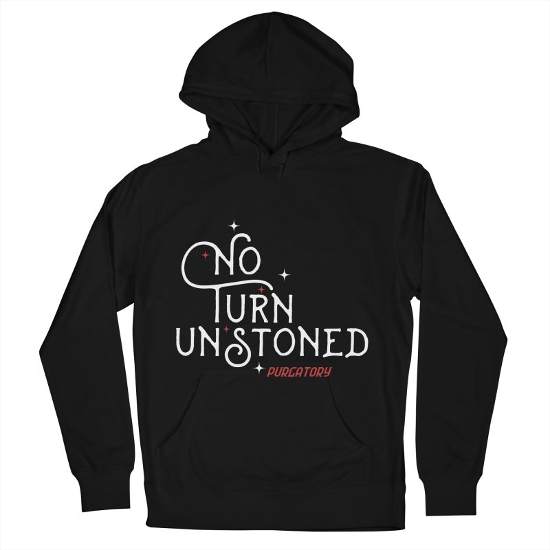 No Turn Unstoned Men's Pullover Hoody by lauriecullumdesign's Artist Shop