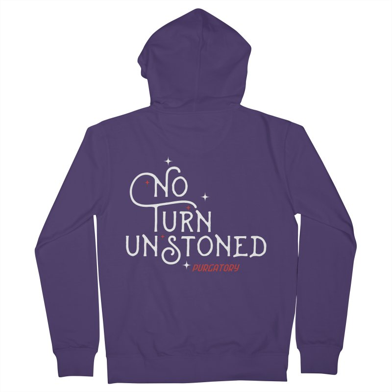 No Turn Unstoned Women's Zip-Up Hoody by lauriecullumdesign's Artist Shop