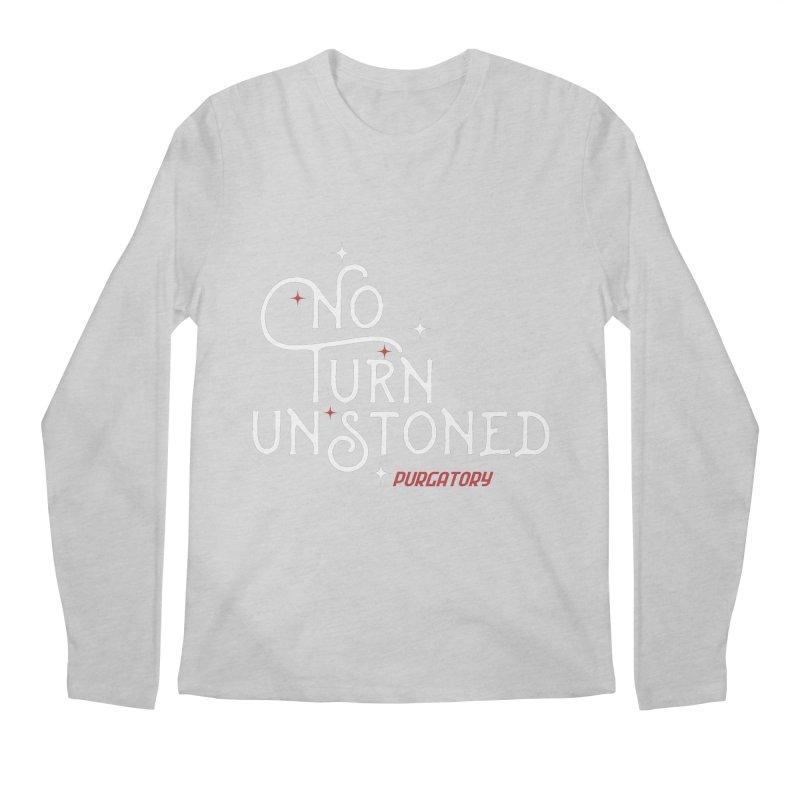 No Turn Unstoned Men's Longsleeve T-Shirt by lauriecullumdesign's Artist Shop
