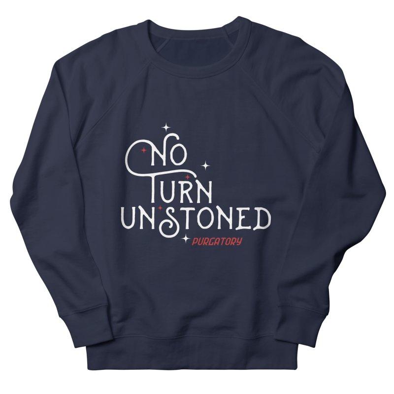 No Turn Unstoned Men's Sweatshirt by lauriecullumdesign's Artist Shop
