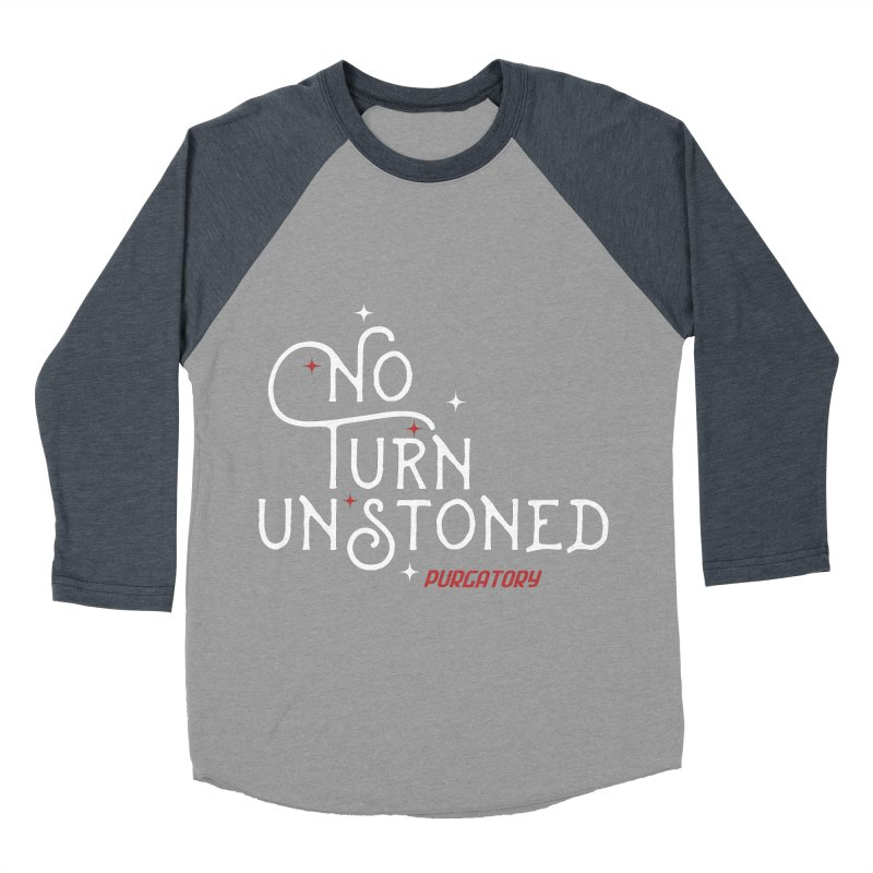 No Turn Unstoned Women's Baseball Triblend T-Shirt by lauriecullumdesign's Artist Shop