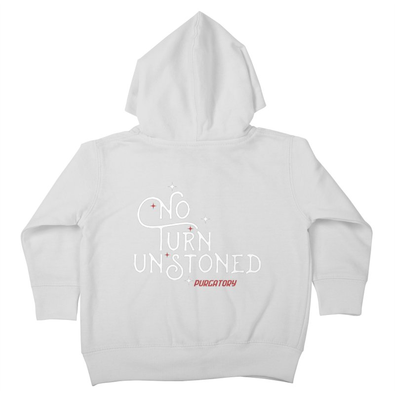 No Turn Unstoned Kids Toddler Zip-Up Hoody by lauriecullumdesign's Artist Shop