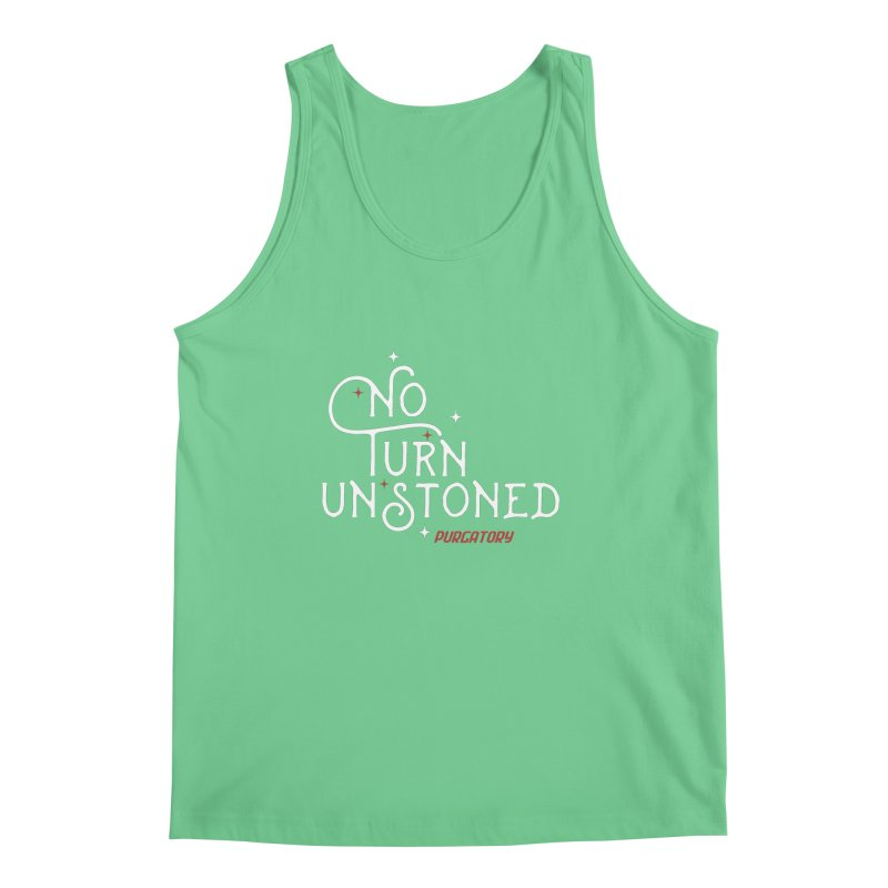 No Turn Unstoned Men's Tank by lauriecullumdesign's Artist Shop