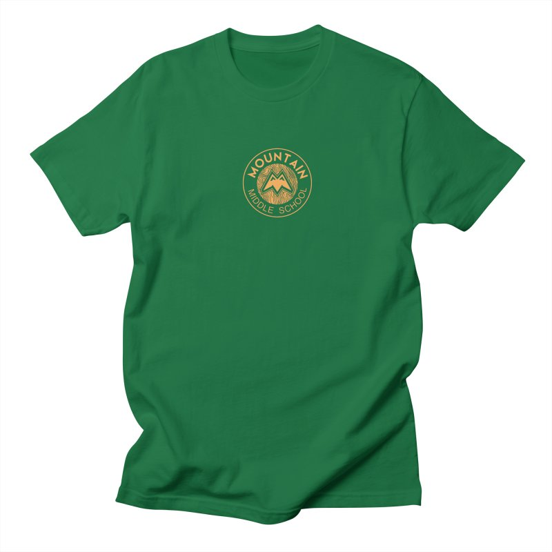 Mountain Middle School Men's T-Shirt by lauriecullumdesign's Artist Shop