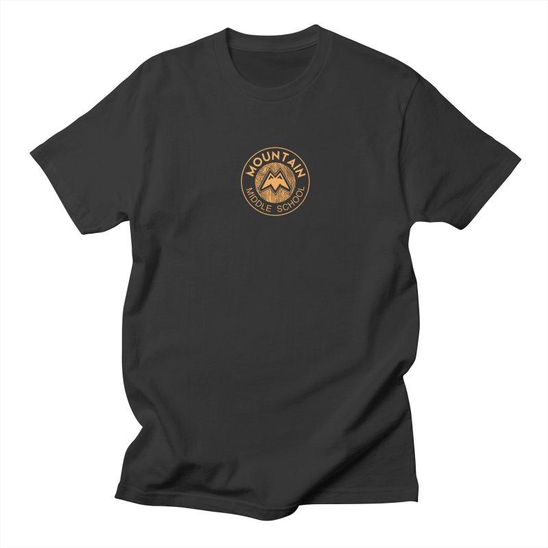 Mountain Middle School Men's Regular T-Shirt by lauriecullumdesign's Artist Shop