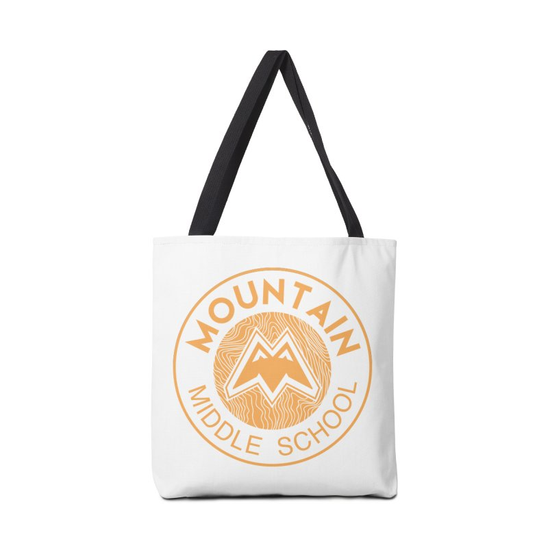 Mountain Middle School Accessories Bag by lauriecullumdesign's Artist Shop
