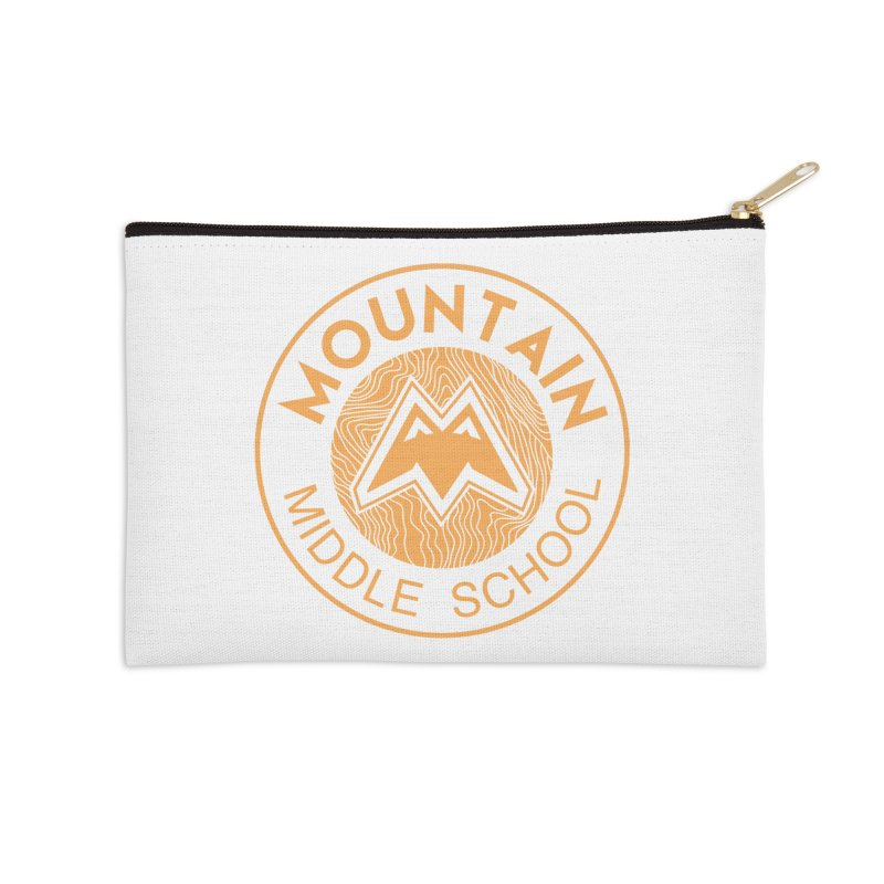 Mountain Middle School Accessories Zip Pouch by lauriecullumdesign's Artist Shop
