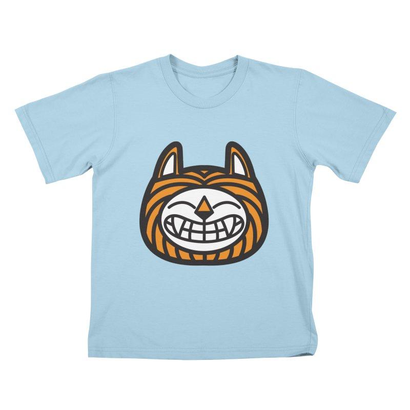 Tiger Kids T-shirt by lautanamera's Artist Shop