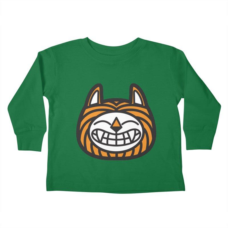 Tiger Kids Toddler Longsleeve T-Shirt by lautanamera's Artist Shop