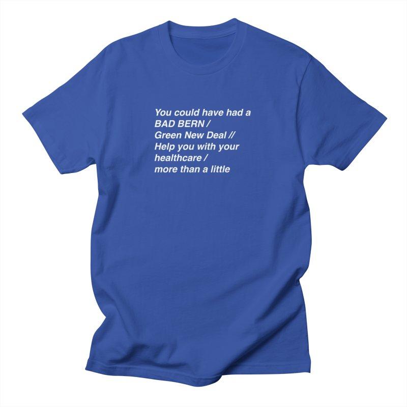 Bad Bern Men's T-Shirt by Lava Bat's Artist Shop