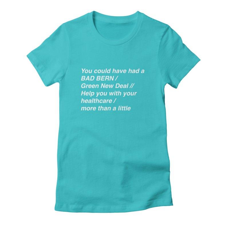 Bad Bern Women's T-Shirt by Lava Bat's Artist Shop