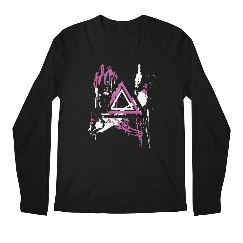 Shadow Faerie Men's Longsleeve T-Shirt by Lava Bat's Artist Shop
