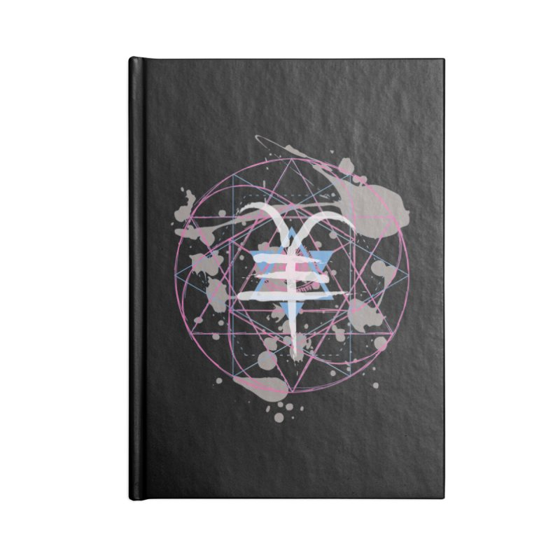Year of the Goat (III) Accessories Notebook by Lava Bat's Artist Shop
