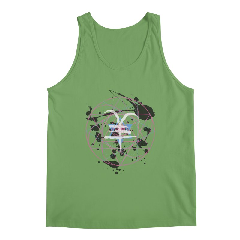 Year of the Goat (II) Men's Tank by Lava Bat's Artist Shop