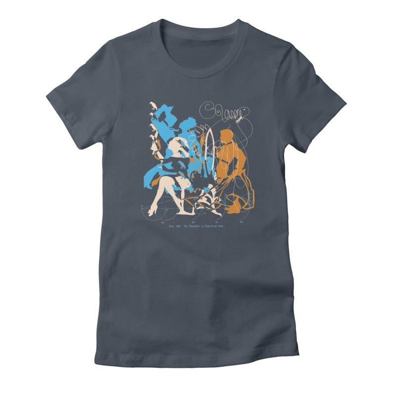 Figure 149 Women's T-Shirt by Lava Bat's Artist Shop