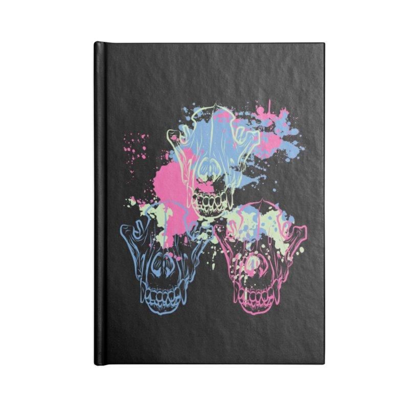 Mors Certa (II) Accessories Notebook by Lava Bat's Artist Shop