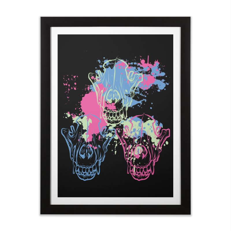 Mors Certa (II) Home Framed Fine Art Print by Lava Bat's Artist Shop