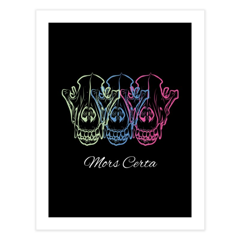 Mors Certa (I) Home Fine Art Print by Lava Bat's Artist Shop