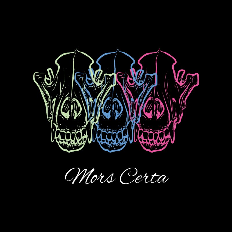 Mors Certa (I) Men's Longsleeve T-Shirt by Lava Bat's Artist Shop