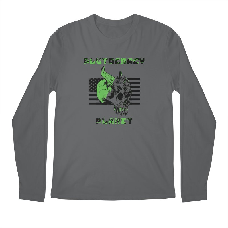 Plutocracy Planet (II) Men's Longsleeve T-Shirt by Lava Bat's Artist Shop