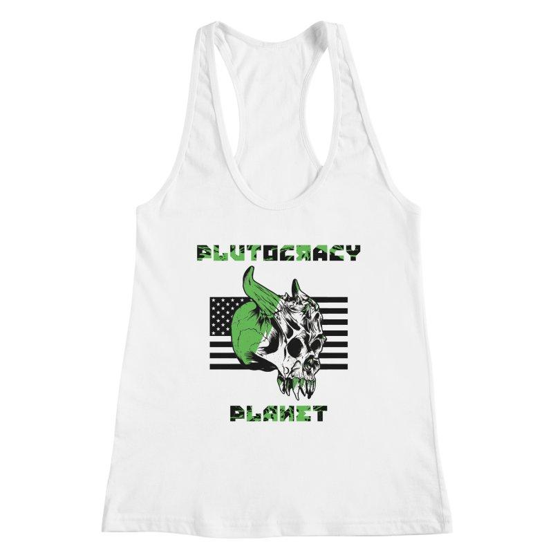 Plutocracy Planet (II) Women's Tank by Lava Bat's Artist Shop