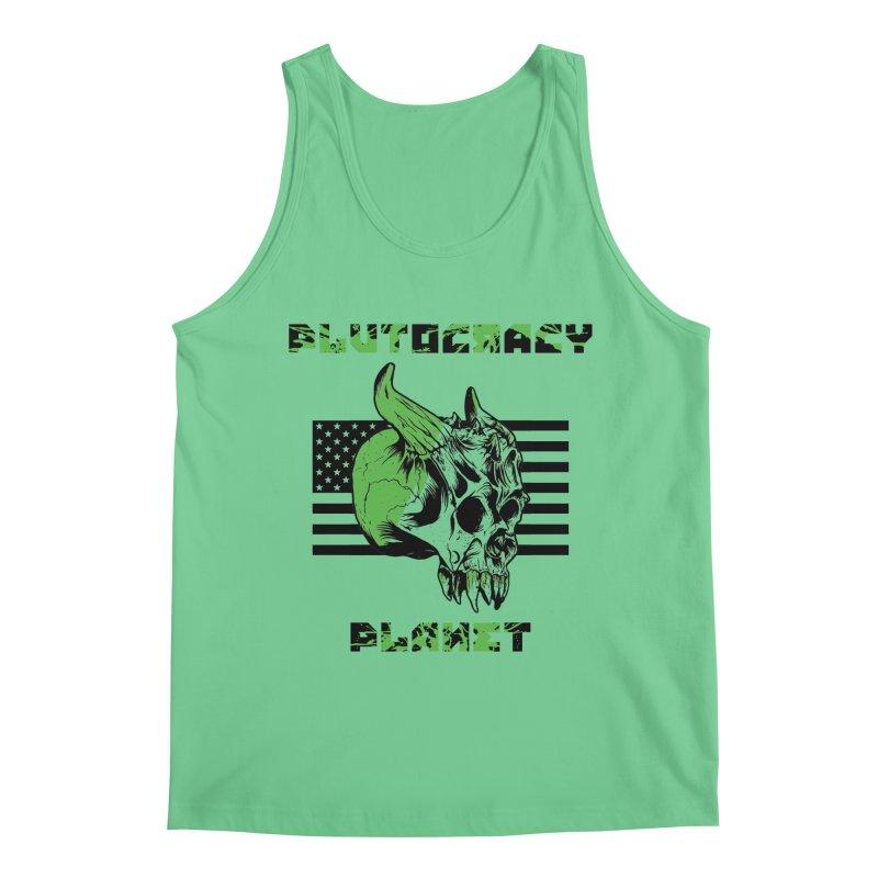 Plutocracy Planet (II) Men's Tank by Lava Bat's Artist Shop