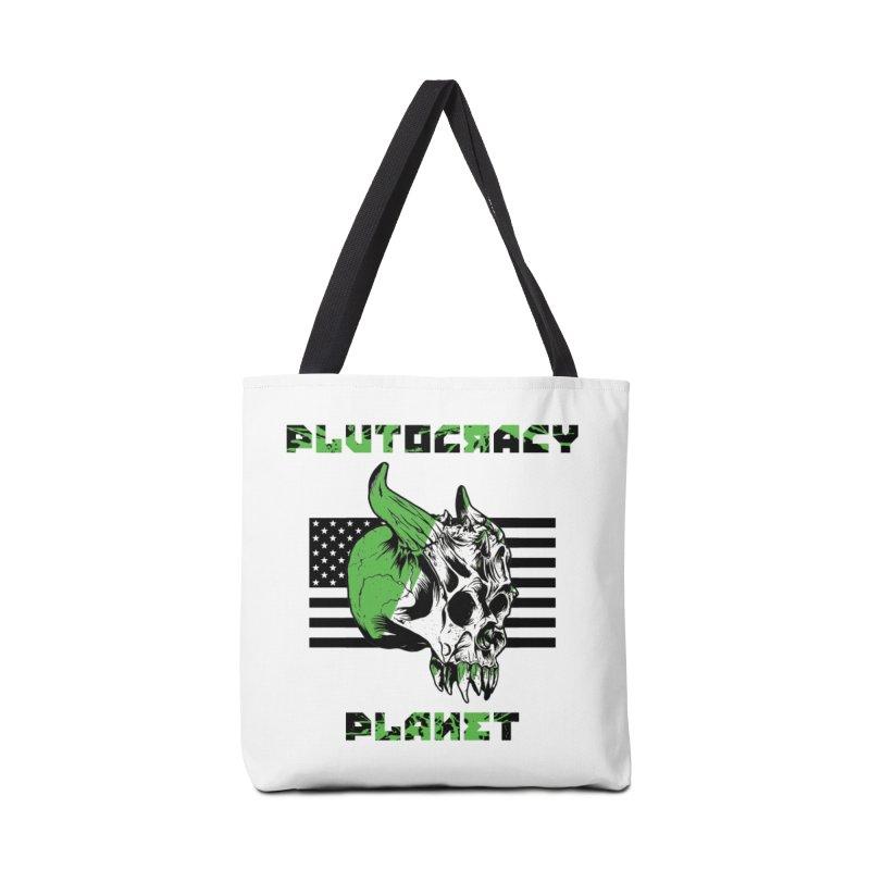 Plutocracy Planet (II) Accessories Bag by Lava Bat's Artist Shop