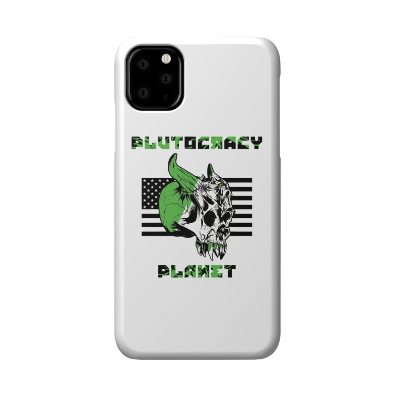 Plutocracy Planet (II) Accessories Phone Case by Lava Bat's Artist Shop