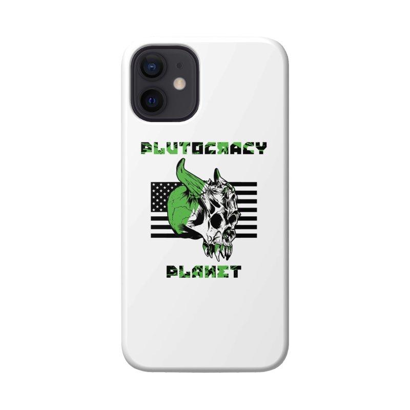 Plutocracy Planet (II) Accessories Phone Case by Lava Bat's Artist Shop
