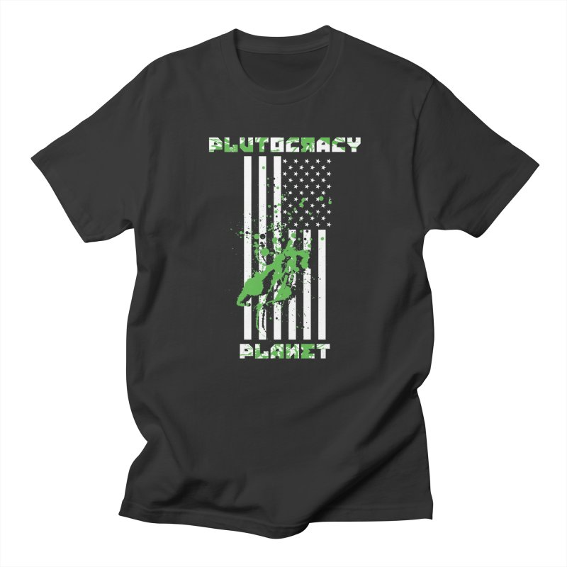 Plutocracy Planet (I) Men's T-Shirt by Lava Bat's Artist Shop