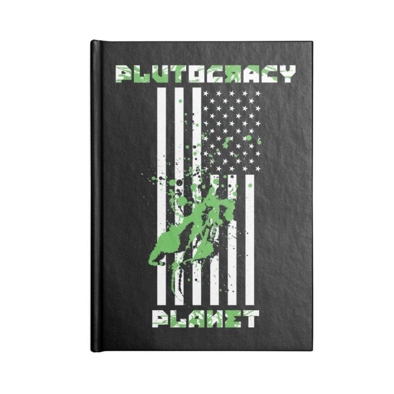 Plutocracy Planet (I) Accessories Notebook by Lava Bat's Artist Shop
