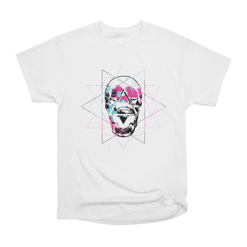 Geometry of the Damned Men's T-Shirt by Lava Bat's Artist Shop