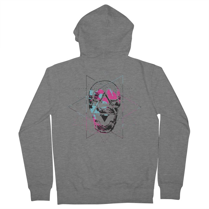 Geometry of the Damned Men's Zip-Up Hoody by Lava Bat's Artist Shop