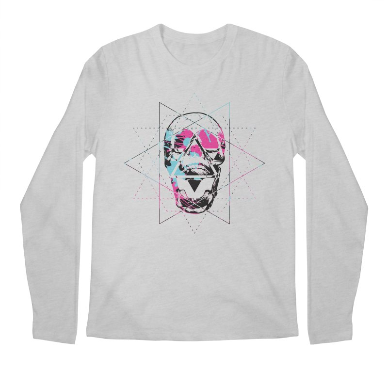Geometry of the Damned Men's Longsleeve T-Shirt by Lava Bat's Artist Shop
