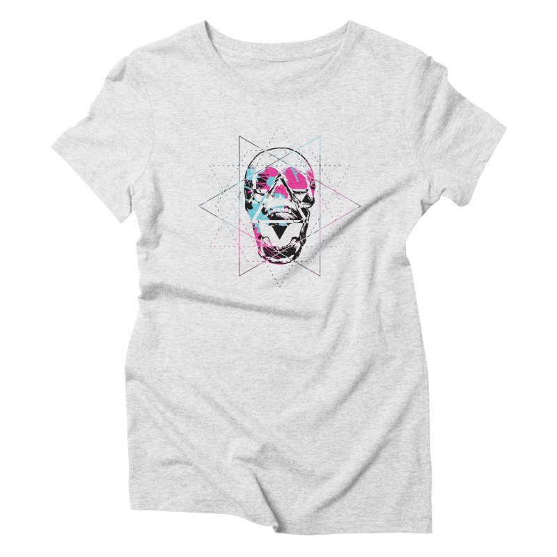 Geometry of the Damned Women's T-Shirt by Lava Bat's Artist Shop