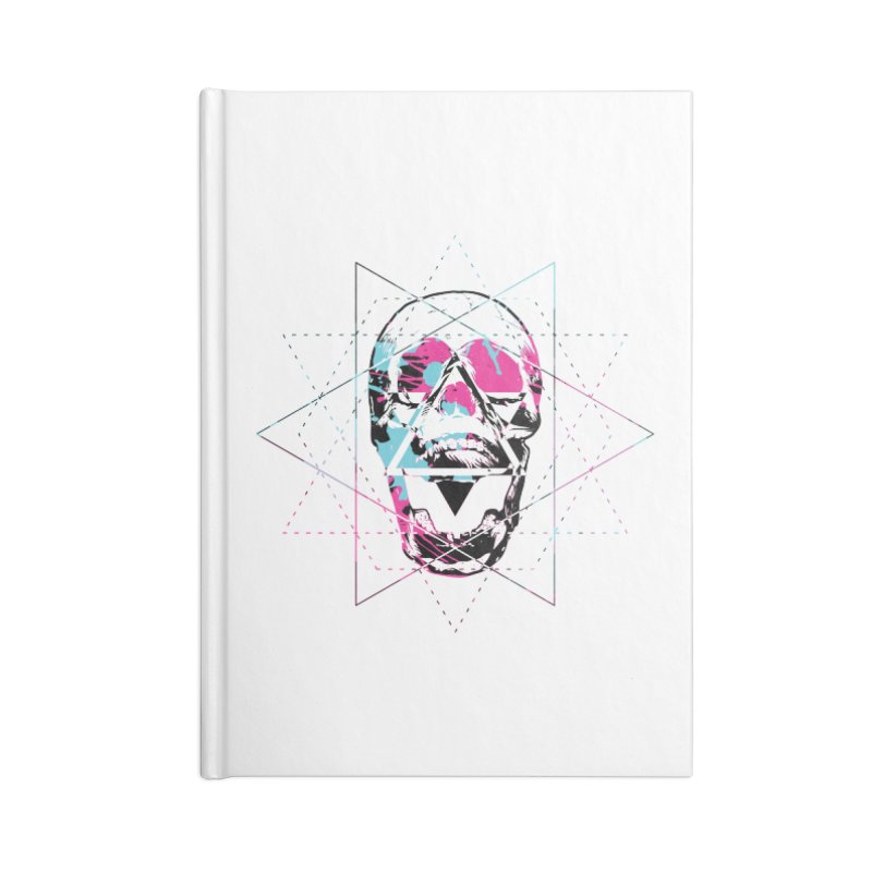 Geometry of the Damned Accessories Notebook by Lava Bat's Artist Shop