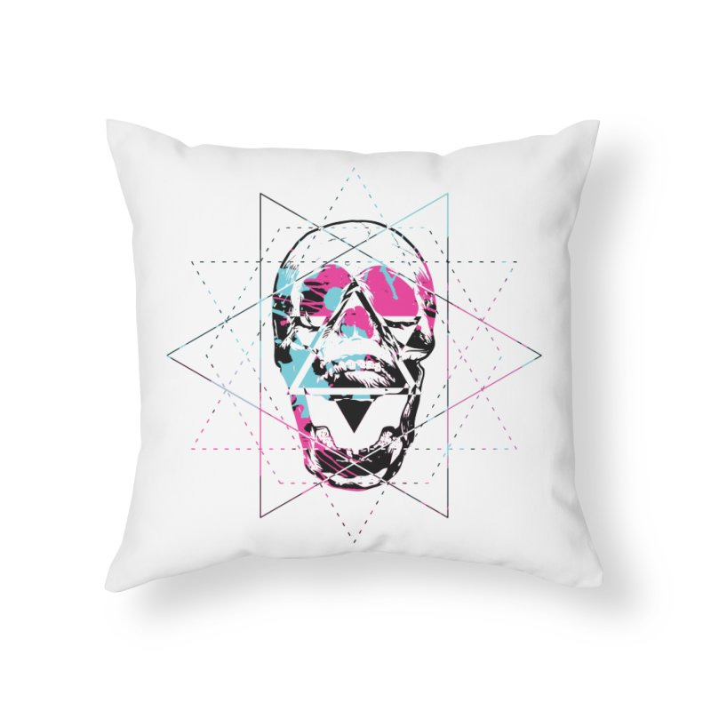 Geometry of the Damned Home Throw Pillow by Lava Bat's Artist Shop