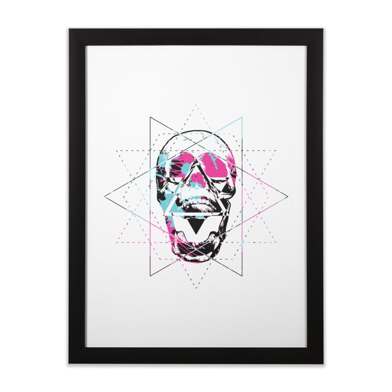 Geometry of the Damned Home Framed Fine Art Print by Lava Bat's Artist Shop