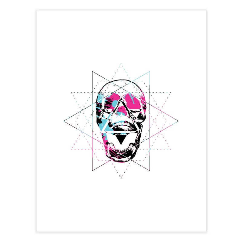 Geometry of the Damned Home Fine Art Print by Lava Bat's Artist Shop