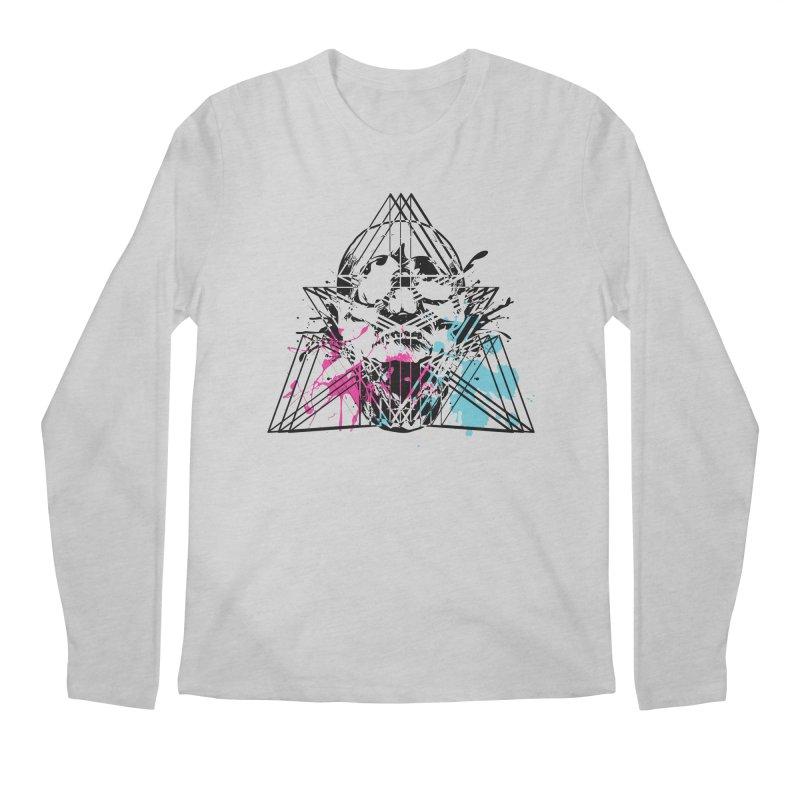 Geometry of the Damned (II) Men's Longsleeve T-Shirt by Lava Bat's Artist Shop