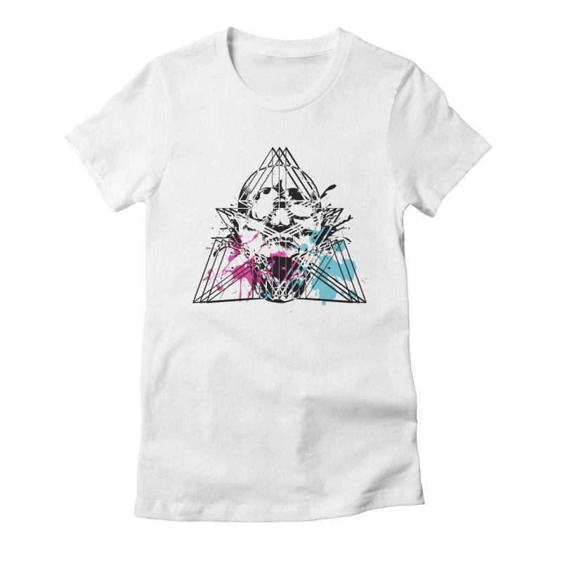Geometry of the Damned (II) Women's T-Shirt by Lava Bat's Artist Shop
